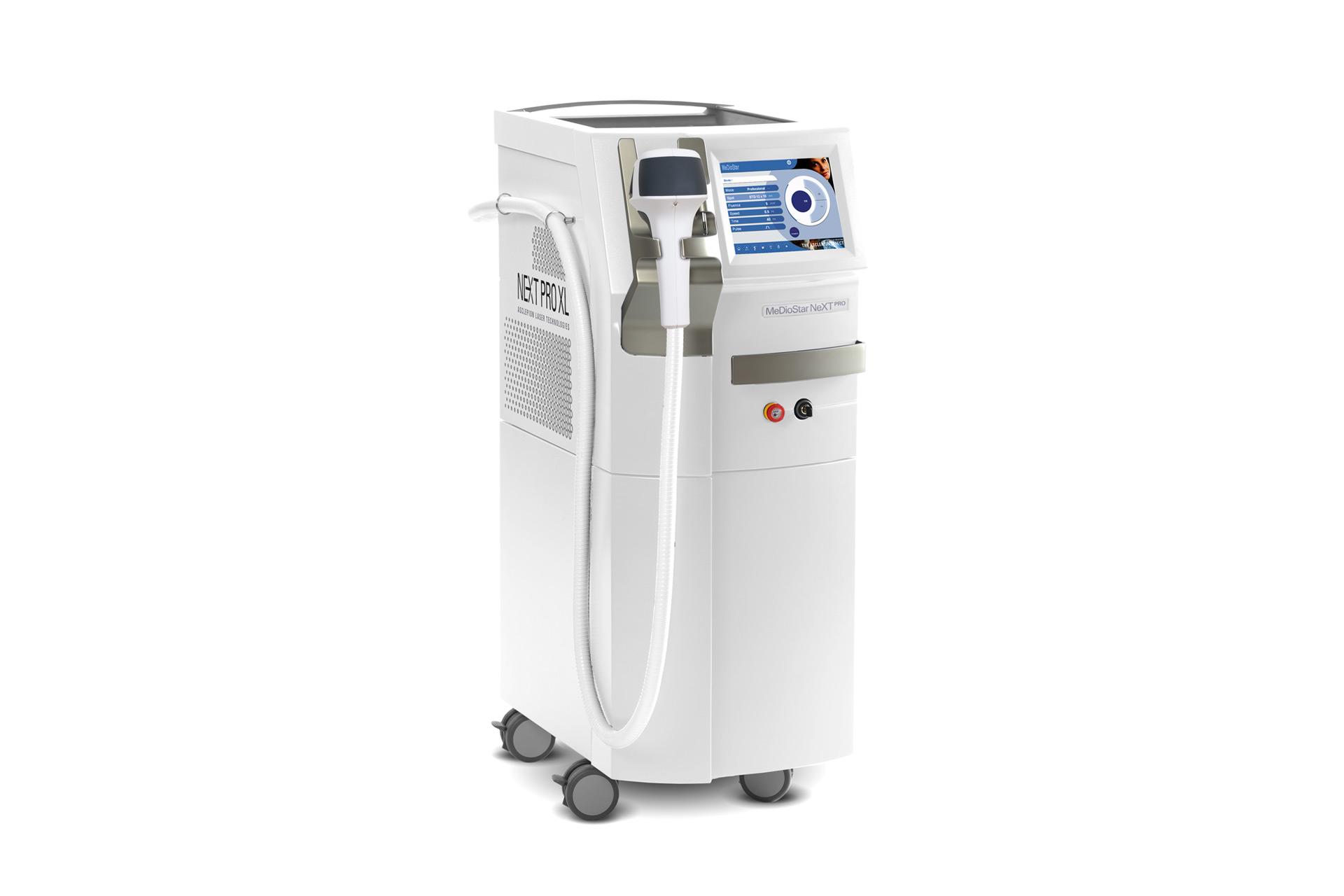 Haarentfernung Klagenfurt MEDIOSTAR NEXT Pro XL Laser